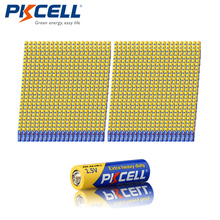 1000pcs*PKCELL Extra Heavy Duty AA R6P 1.5V Carbon-zinc Primary Batteries For Remote MP3 Toys(China)