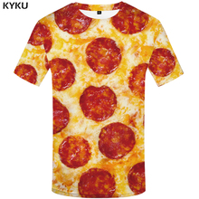 Buy KYKU Brand Pizza T Shirt Women Funny T-shirt Food Tshirt 3d Print Top Tees Sexy Womens Clothing Woman Clothes 2017 Casual for $6.99 in AliExpress store