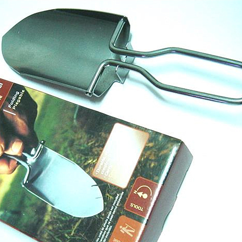 Outdoor camping shovel Garden tools Steel shovel Stainless steel folding small shovel Easy to carry camping gadgets04