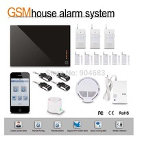 G1D-1 DIY Wireless GSM alarm System HOME Security BURGLAR ALARM KIT with PIR Sensor detector Siren Door/window sensor,gift box(China)