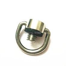 Металл D кольцо dslr камеры 1/4, соединяющий винт адаптер для ремень quick release plate зеркальная фотография студия аксессуары