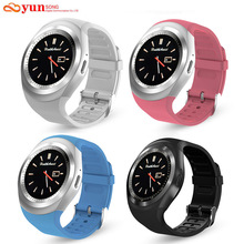YUNSONG Y1 wearable Bluetooth Smart Watch Support SIM TF Card With Whatsapp Facebook fitness Smartwatch For Android/IOS phone