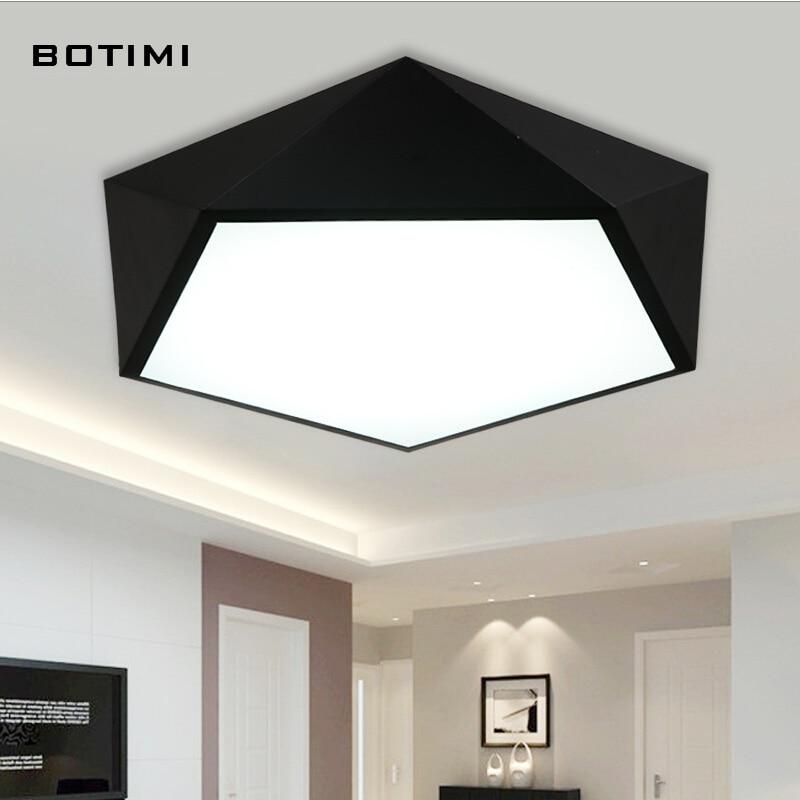 BOTIMI  Modern metal LED ceiling lighting lamparas de techo for bedroom study room simple designs lighting fixtures<br><br>Aliexpress
