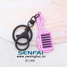Wholesale 2014 New Trinket Kawaii Fashion Chaveiro Led With Crystal  Lovely Personality Comb Chaveiros Keychain