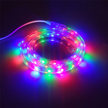 Outdoor Night View Waterproof Decoration Illumination Light AC220V SMD 5050 Led Strip 60 LED 1M /3M /5M /8M /10M /15M - LD2-5050(China)