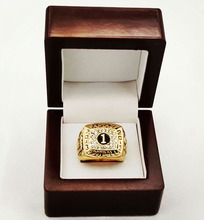 Factory direct sale Wood boxes 2013 fantasy Football Super Bowl Basketball Zinc Alloy Replica Championship Rings