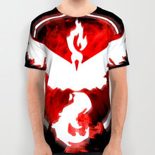 2016 T-shirt Pokemon Go cosplay t shirt Men Pokemon Short Sleeve Men T-shirt Tee Tops Camp logo(China)