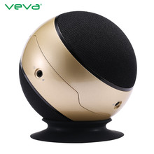 New Arrival VEVA BT2026 Bluetooth V2.1 Speaker Wireless Portable Ball Speaker Stereo Bass Sound Box for Smart Phone Tablet PC