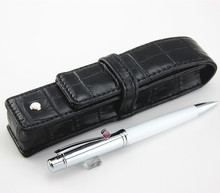 upgrade limited edition Ballpoint Pen Greta Garbo  resin with Pearl Stationery office supplies of leather bag