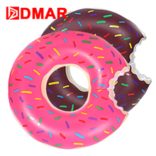 DMAR Inflatable Donut Swimming Ring Pool Float 3 Sizes Swimming Circle Adult Kids Inflatable Mattress Beach Water Party Toys