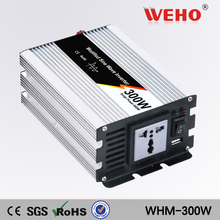 (WHM300-121)300W Solar Inverter OFF Grid Tie DC12V to 110VAC Modified Sine Wave Inverter 50Hz/60Hz