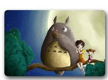 Custom Machine-Washable My Neighbor Totoro Lovely Door Mat Indoor/Outdoor Decor 40x60cm Rug Doormat Room Decoration