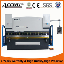 DA52S hydraulic plate bending machine cnc press brake,125 Tons metal plate cnc bending machine