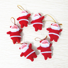100pcs/lot Bulk sale elf door hanger christmas personalized ornaments wholesale for holiday gift(China)