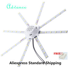 AliExpress Standard Shipping LED Ceiling Lamp Octopus Light 12W 16W 20W 24W LED Light Board 220 5730SMD Energy Saving Expectancy