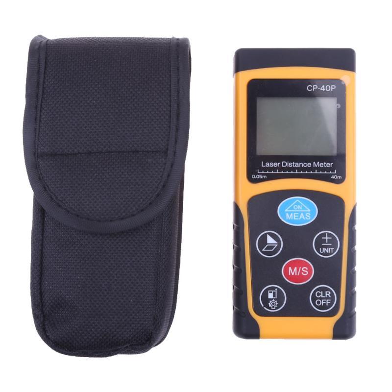 60m/100m Portable Laser Rangefinder Infrared Laser Distance Meter Range Distance Meter Ruler Measuring Tape<br>