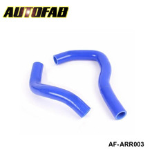 AUTOFAB -Silicone Intercooler Turbo Radiator Hose Kit 2pcs For Acura Integra DC5 Type R K20A Motor (2pcs) AF-ARR003
