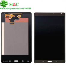 White Black T705 LCD Touch Panel For Samsung Galaxy Tab S T705 3G & T700 Wifi LCD Display Touch Screen Digitizer Panel Assembly