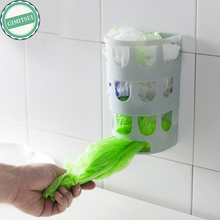 Grocery Bag Holder Dispenser, Grocery Plastic Bag Storage Box Wall Mount Kitchen Organizer Recycler Plastic Shopping Bag Storage(China)