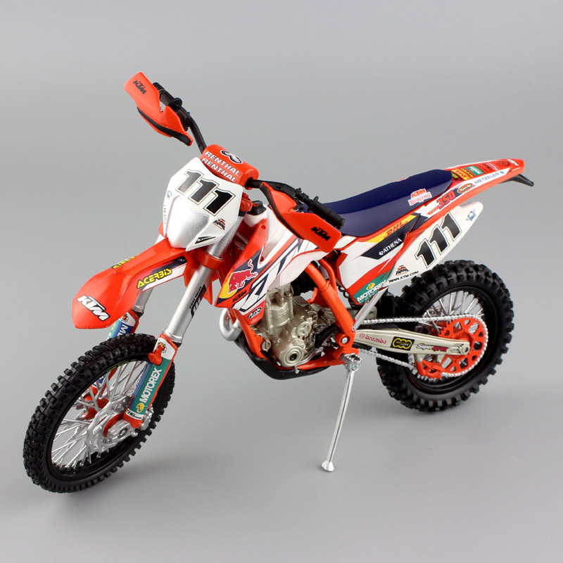1 12 mini scale moto KTM EXC-F 350 REDBULL Factory Race Team Motorcycle Diecast metal model Sportbike DIRT BIKE enduro Motocross(China)