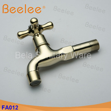 Antique Extra Long Garden Use Bibcock Wall Mounted Bathroom Kitchen Laundry Sink Faucet Tap Bibcocks Machine Water Tap(FA012)