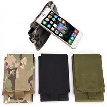 Universal Army Tactical Bag Cell Phone Belt Loop Hook Cover Case Pouch Holster for Apple iPhone 6 5S/5 4S/4 for Galaxy S5 S4 S3