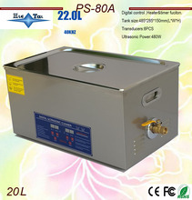 newest free shipping  110V/220V  40KHz 600W PS-80A Digital heater&timer Ultrasonic Cleaner 20L for electronic components