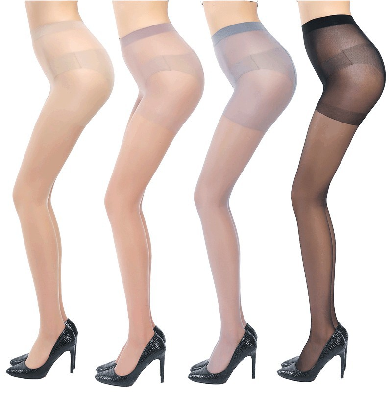 Pantyhose ultra-thin 10D Sexy Skinny Legs Tight Anti Hook Silk Stocking Pantys Breathable Elastic Tights Stocking Sun Protection