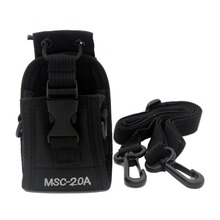 XQF MSC-20A Walkie Talkie Case Holster for Kenwood Motorola GP328 GP338 GP88 BaoFeng UV-5R UV-5RT UV-82 UV-B5 UV-5RE Plus UV-82