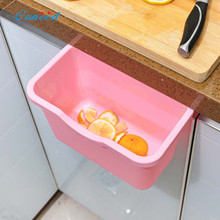 Ouneed Durable Beautiful Storage Garbage Boxs Green,Pink,Blue,White,Thickness Kitchen Doors Trash Rack 1 PC