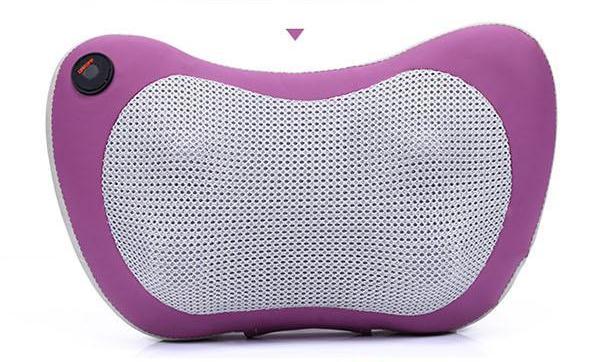 Car massager motor home massage cushion cushion for leaning on Auto massage pillow neck lumbar cervical vertebra<br>