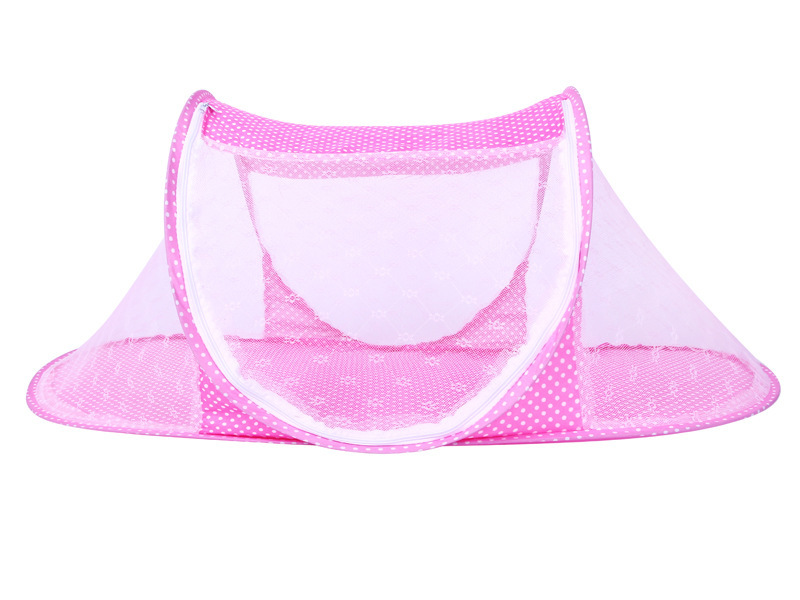 Infant Baby Bedding Crib Mosquito Net For Baby portable Mosquito Mesh Netting Toddler Cots fodable Summer Mosquito Nets Insect (6)