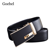 Goebel Designer Man's Belts Fashion Pu Leather Mens Casual Belt Brand All-Match Pin Buckle Luxury Male Belt For Jeans(China)