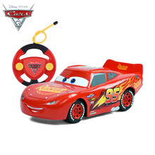 2017 Disney Pixar Cars 3 Lightening Macqueen RC Car Toys for Children Boys Car Race Xmas Gifs with Cool Remote Controller