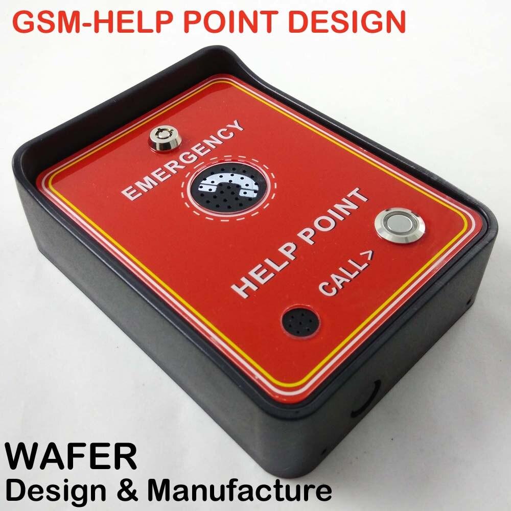 2016 Rain Proof GSM emergency Freephone GSM Emergency Help point Handsfree intercom<br><br>Aliexpress