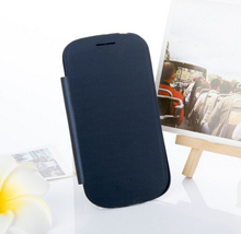 Flip Cover Sleeve Bag Holster Shell Case For Samsung Galaxy S3 I9300 S3 Neo I9300i S3 Duo Battery Housing Leather Case