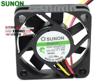 Sunon fan KDE1204PFVX 40*40*10 mm 12V 1.8W with a 3-wire switch server inverter cooling fan(China)