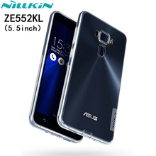 Case for Asus Zenfone 3 ZE552KL NILLKIN Nature TPU Soft Sase Series Phone Case Ultra Thin Transparent cover for Zenfone3 ZE552KL
