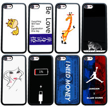 Баскетбол NBA бренд Jordan чехол для iphone 6 6s плюс 7 8 X XS XR Чехлы для мангала Fundas iphone плюс Чехол XSMAX capinha(China)