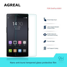Original Oneplus one Screen Protector Oneplus one Tempered Glass for Oneplus One Plus one1+1 OPO Phone free gift carton box send