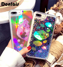 Buy Luxury Bling Glitter Case iPhone 6 Case iPhone 6S 7 7 PLus Back Cover Mermaid Sequin Dynamic Liquid QuickSand Phone Case for $4.99 in AliExpress store
