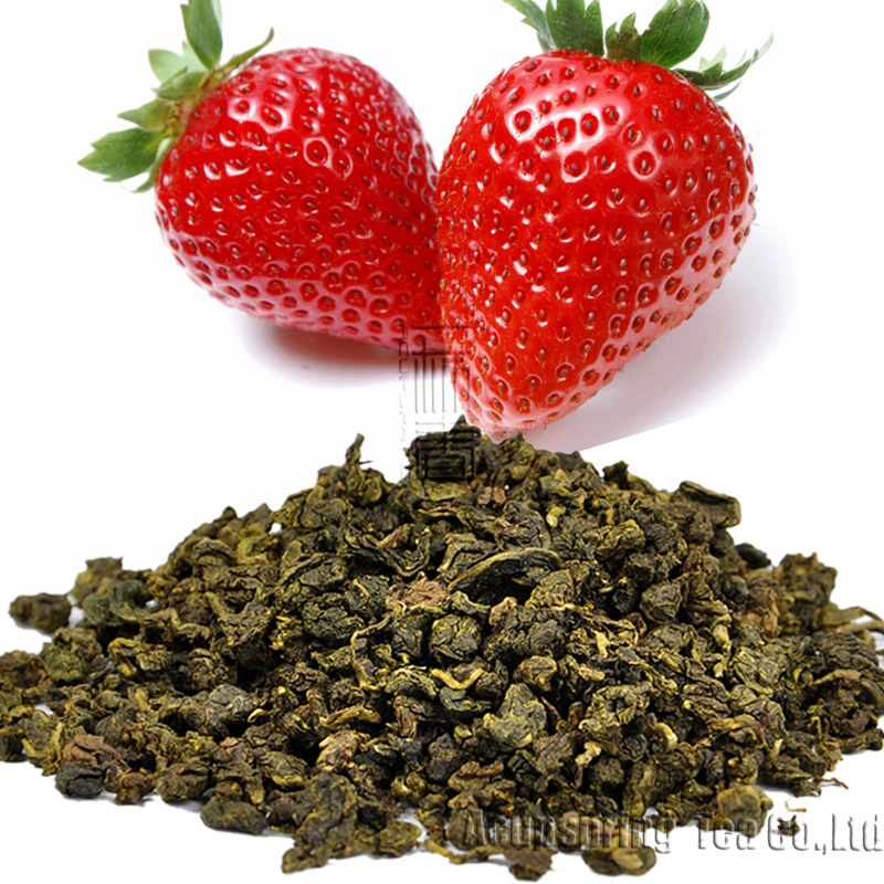 250g,Strawberry Flavor Tieguanyin Tea,Early Spring Fruit flavor Oolong Tea,Slimming tea,CTX207,taste delicious