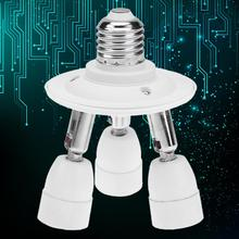 Buy 60W E27 3E14 E27 5 E14 Light Socket Splitter E27 E14 Standard Base Adapter Lamp Base Bulb Holder Light Socket Converter for $6.40 in AliExpress store