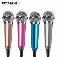 BCMaster Portable Mini 3.5mm Stereo Studio Speech Mic Audio Microphone For Phone/Smart Phone Desktop Accessories
