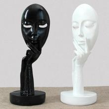 Modern Home Decor Figure Crafts Resin Furnishing Articles Sculpture Character Sculpture Abstractive Resin Figure Portrait #45(China)