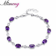 AAA 100% Sterling Silver 925 Jewelry Bracelet Female Silver Flash Star Bracelet Christmas Gift Free Shipping!!(China)