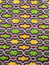African Attire Fabrics Holland Super Deluxe Wax Lemone Geometry Uniform sw835557(China)