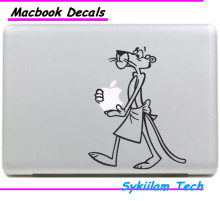 Hold Cartoon Pink Panther Sticker for apple Macbook Skin Air 11 13 Pro 13 15 17 Retina Decal Computer Car Wall Vinyl Logo Case