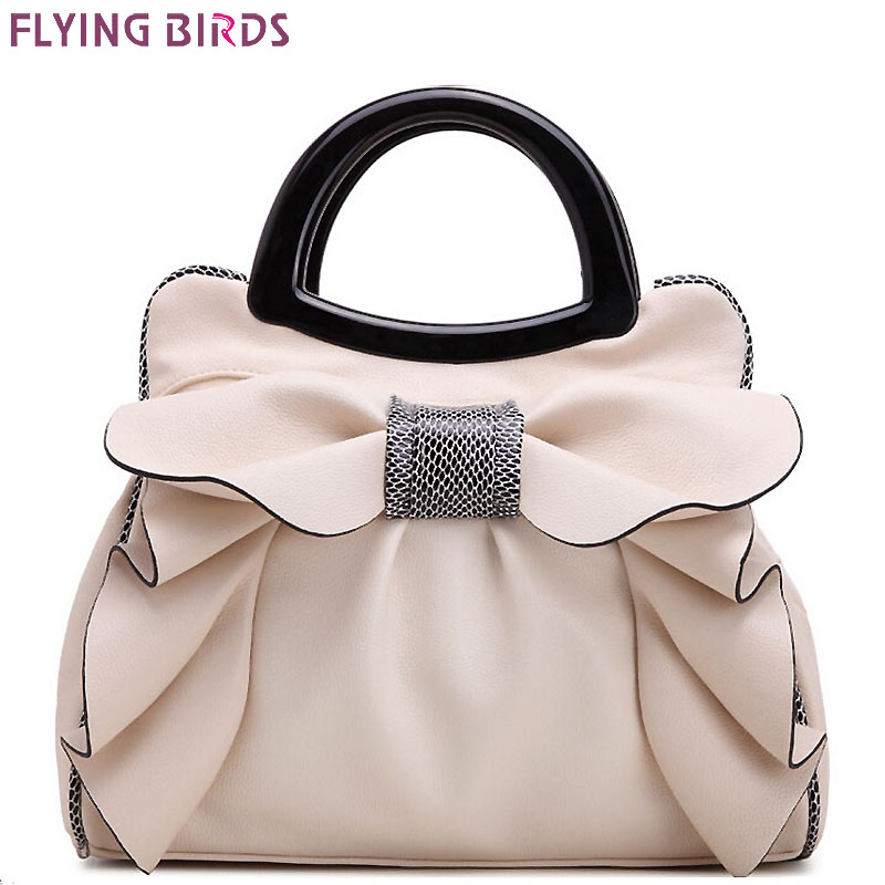 FLYING BIRDS! 2016 women handbag designer women leather handbags retro wedding tote bolsas brands flower embossed bag LM3162fb<br>