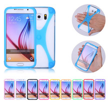 "For MTC Smart Sprint 4G Case 4.5"" Multi-function Frame Universal Luminous Silicon Bumper Ring Cover Phone Cases, Free Gift"